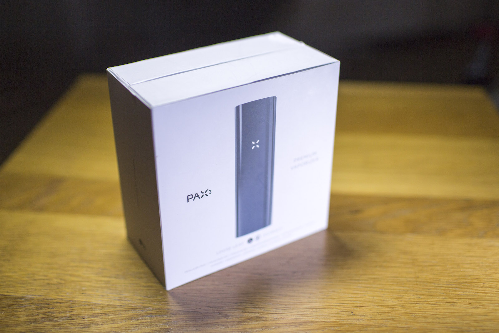 Pax3 - comes in a nice box
