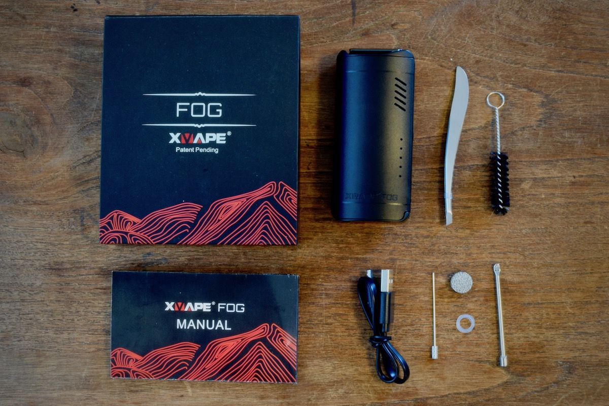 XVAPE Fog - what's in the box?